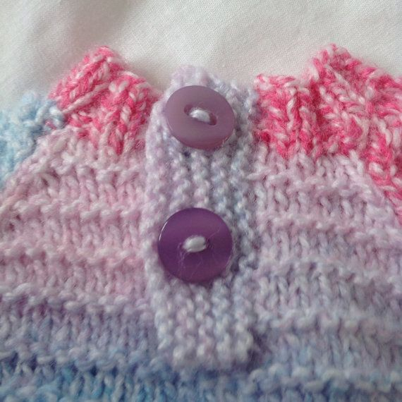 Baby jumper baby sweater baby girl pink baby by ChickFromLeeds