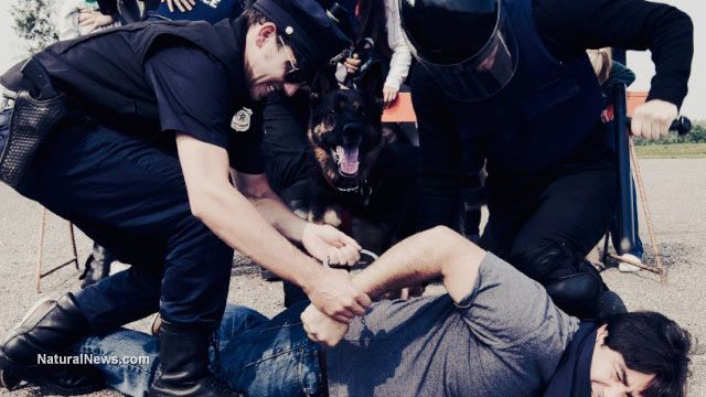 Police brutality in America a natural result of government thinking of citizens as
