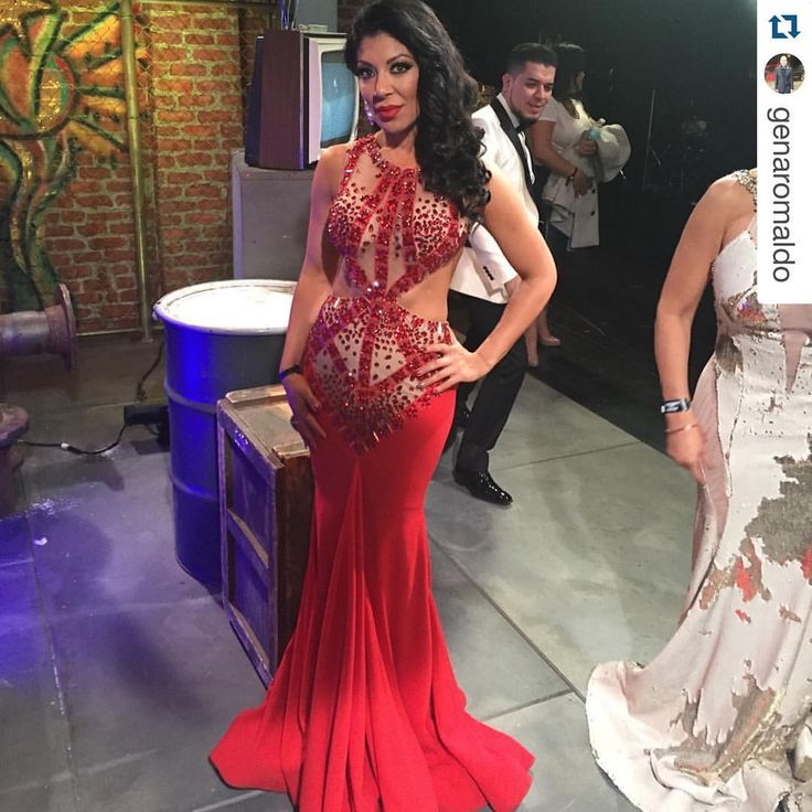 "ANAZ on Instagram: ""#Repost @genaromaldo with @repostapp. ・・・ Gorgeous and stunning @vicky_hdd spotted looking #FABOOSH #FIERCE wearing a one of a kind @anazofficial #HauteCouture dress for ""premios de la radio"" award show #GiGiStyle @horoscoposcoficial #ANAZ #anazofficial #anazgown"""