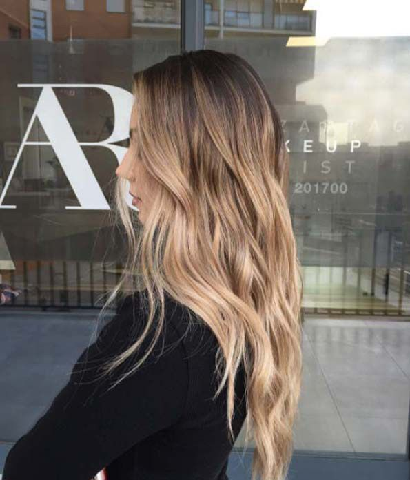 bronze balayage by A&R Salon                                                                                                                                                                                 More
