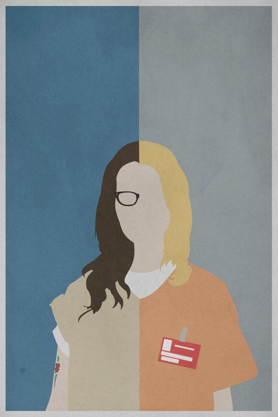 Orange is the New Black Alex/Piper Print