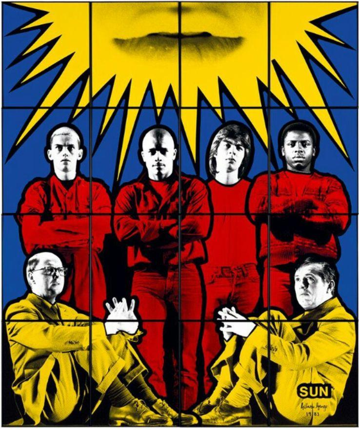 Gilbert & George | Sun (1983)