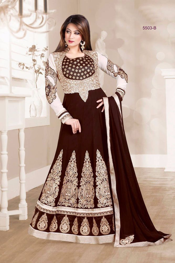Indian Wedding churidar Kameez Designer party wear ethnic dress suit  bollywood