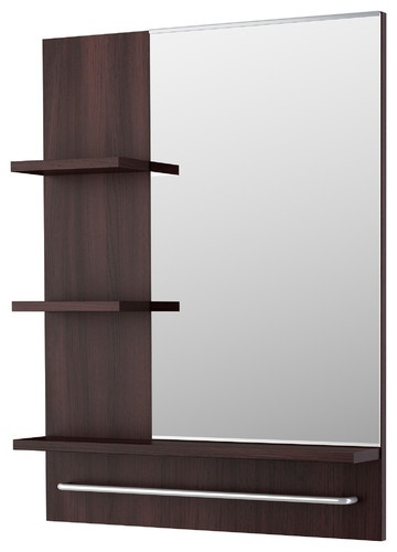 Lillången Mirror contemporary mirrors  Ikea $50 - great for small spaces: Small Bathroom, Modern Bathroom, Design Ideas, Lillången Mirror, Bathroom Mirror, Contemporary Mirror, Bathroom Ideas, Small Spaces, Powder Rooms