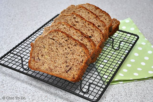 A quick and easy Banana Bread recipe that never fails to please!