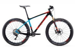 Giant Xtc Advanced 1 Mountain Bike 2017 Purposefully engineered for its fast and stable 27.5 wheels this superlight frame is built to hammer up climbs and rail through corners with blazing XC speed. Made with Advanced-grade composite it's t http://www.MightGet.com/april-2017-1/giant-xtc-advanced-1-mountain-bike-2017.asp