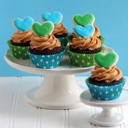 Simple Cupcakes for Earth Day