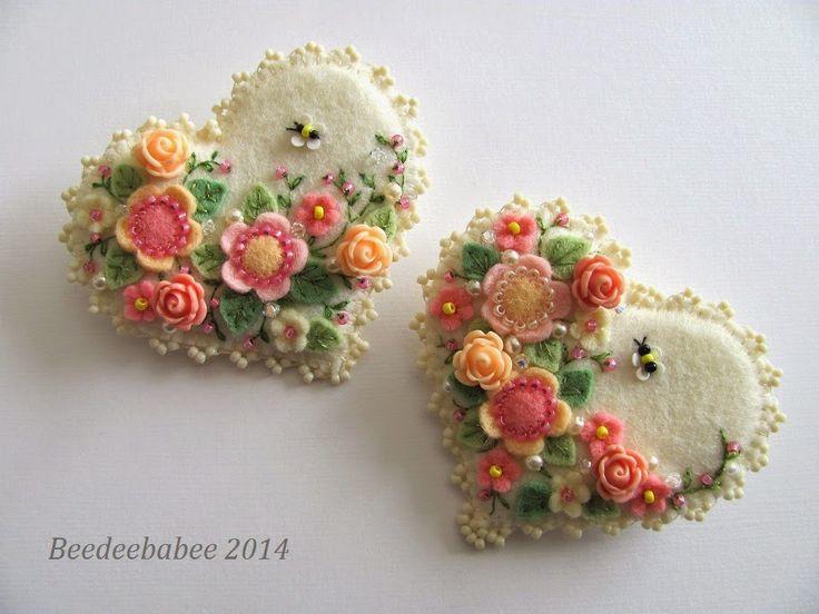 Beedeebabee: On My Stitching Table...