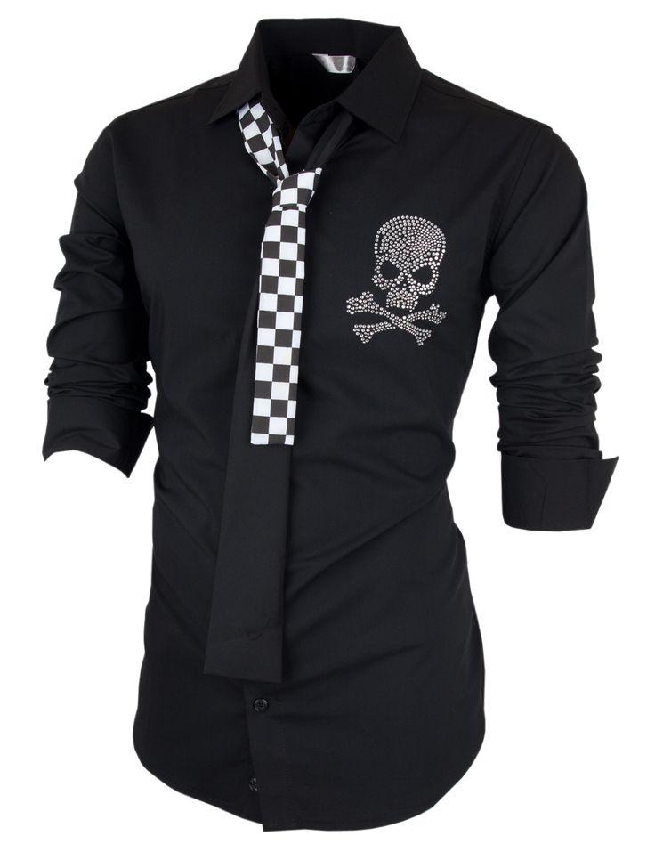 PorStyle Men's Skull Point Span Slim Fit Dress Shirts http://porstyle.com http://www.amazon.com/PorStyle-Skull-Point-Dress-Shirts/dp/B00FF4V34S/ref=sr_1_10?s=apparel&ie=UTF8&qid=1380155414&sr=1-10&keywords=porstyle