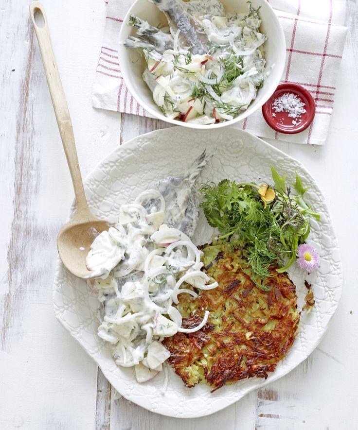Rezept für Matjessalat bei Essen und Trinken. Ein Rezept für 6 Personen. Und weitere Rezepte in den Kategorien Fisch, Gemüse, Kartoffeln, Kräuter, Milch + Milchprodukte, Obst, Vorspeise, Hauptspeise, Salate, Braten, Gut vorzubereiten.