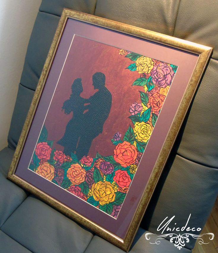 https://www.facebook.com/media/set/?set=a.1025202577523618.1073741828.1024891560888053&type=3 #unicdeco #decoration #unique #roses #frame #art #painting #love