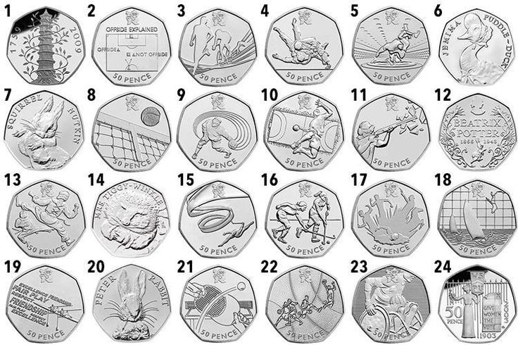 IF you have a 50p in your purse, it's worth checking the design to see if it could be one of the rarest, and most valuable, 50p coins in circulation. While the rarest 50p – the Kew Gard…