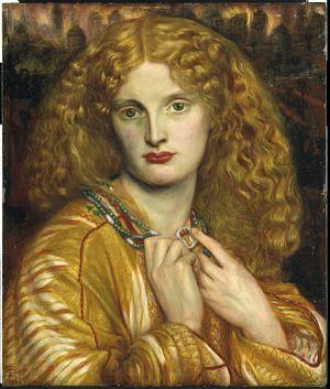 Dante Gabriel Rossetti - Helen of Troy