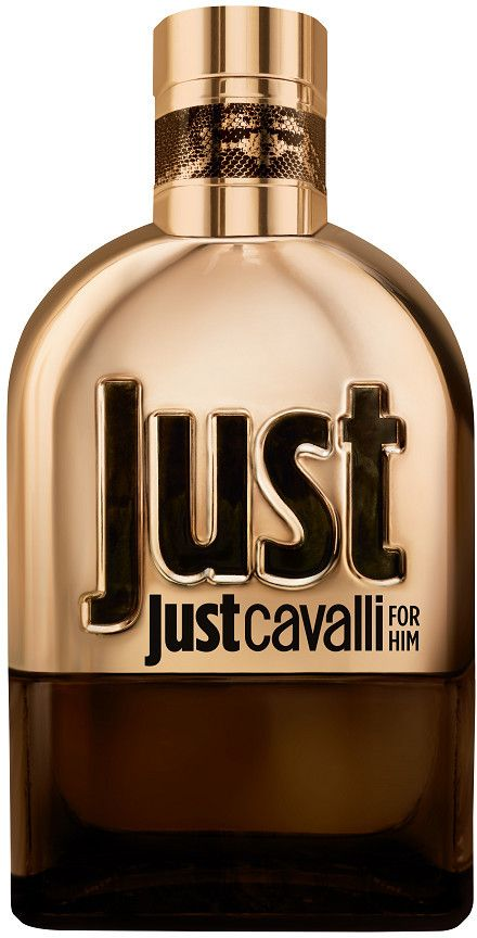 Roberto Cavalli Just Gold for Him eau de parfum spray is krachtig charismatisch en brutaal mannelijk. Een kruidige, houtachtige eau de parfum gecreëerd door parfumeur Domitille Bertheir.