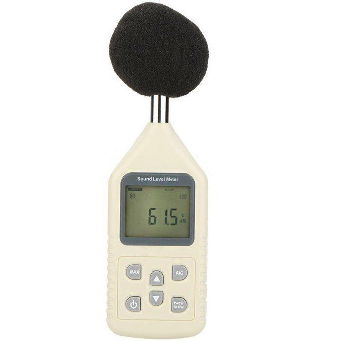 GM1358 Digital Sound Level Meter Portable LCD Screen Noise Tester 30-130dBA/35~130dBC