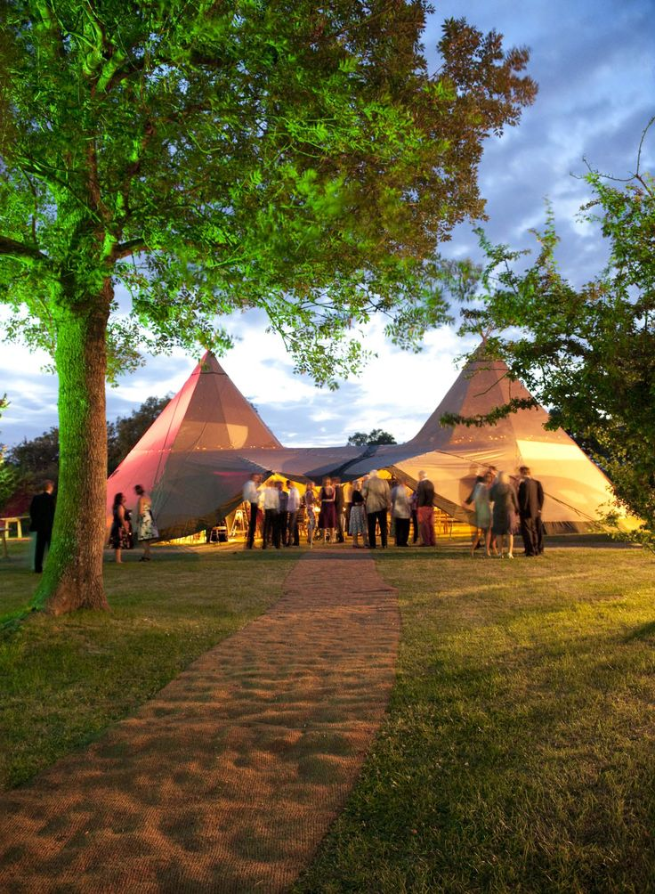 World Inspired party floodlighting