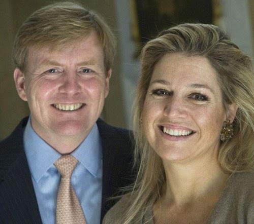 Willem-Alexander & Maxima of the Netherlands