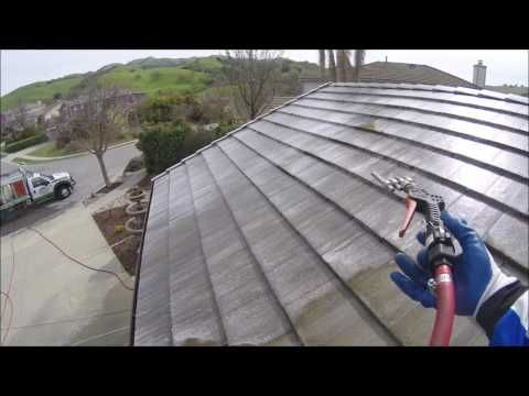 SoftWash Roof Cleaning San Jose EverGreen Valley Area