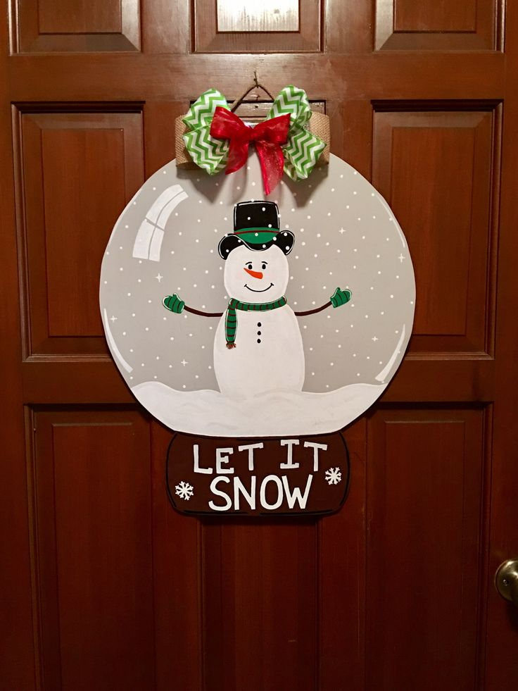 The 25+ best Christmas door hangers ideas on Pinterest