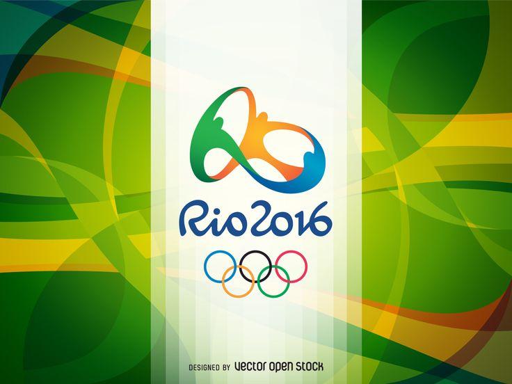 Jogos Olímpicos Rio 2016 bandeira