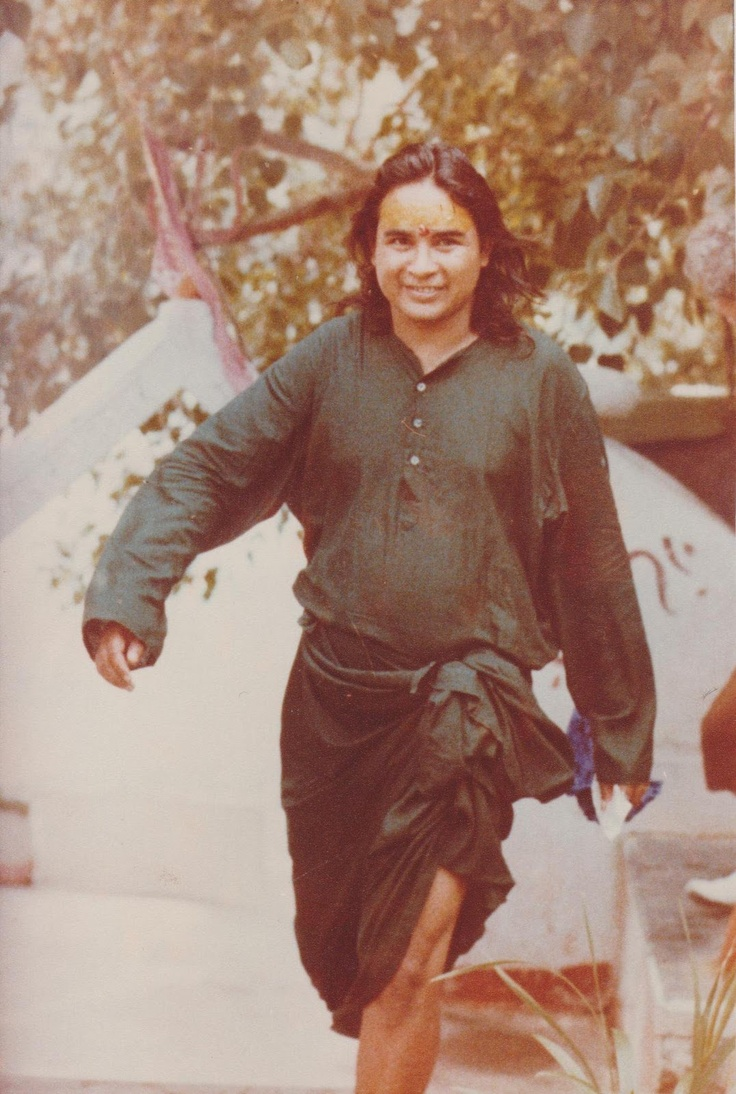 """""""Idleness is death for a human being. Due to man's idleness, the world has reached a point of total despair. To do karma is the true path and in that only is there happiness and peace."""" ~Babaji"""