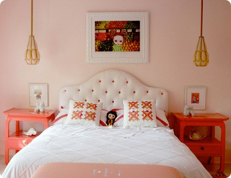 Color The Little Ladies Bedroom Plays With 3 Benjamin Moore Colors   Walls Soft White