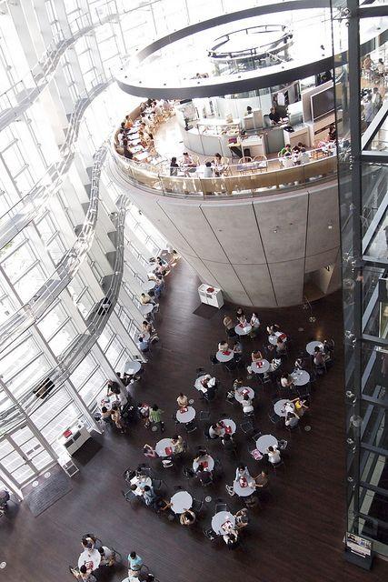 国立美術館のカフェ