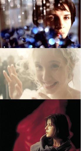 Three Colors Trilogy // Directed by: Krzysztof Kieslowski Cinematography: Edward Kłosiński, Piotr Sobociński, Slawomir Idziak