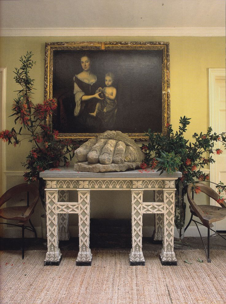 Trematon Castle-Isabel and Julian Bannerman-Cornish Coast-The World of Interiors-Christopher Simon Sykes
