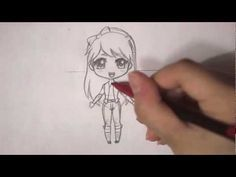 how to draw a popular girl