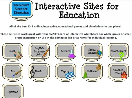 Interactive Learning Sites for Education   21st Century Concepts-Technology in the Classroom   Scoop.it