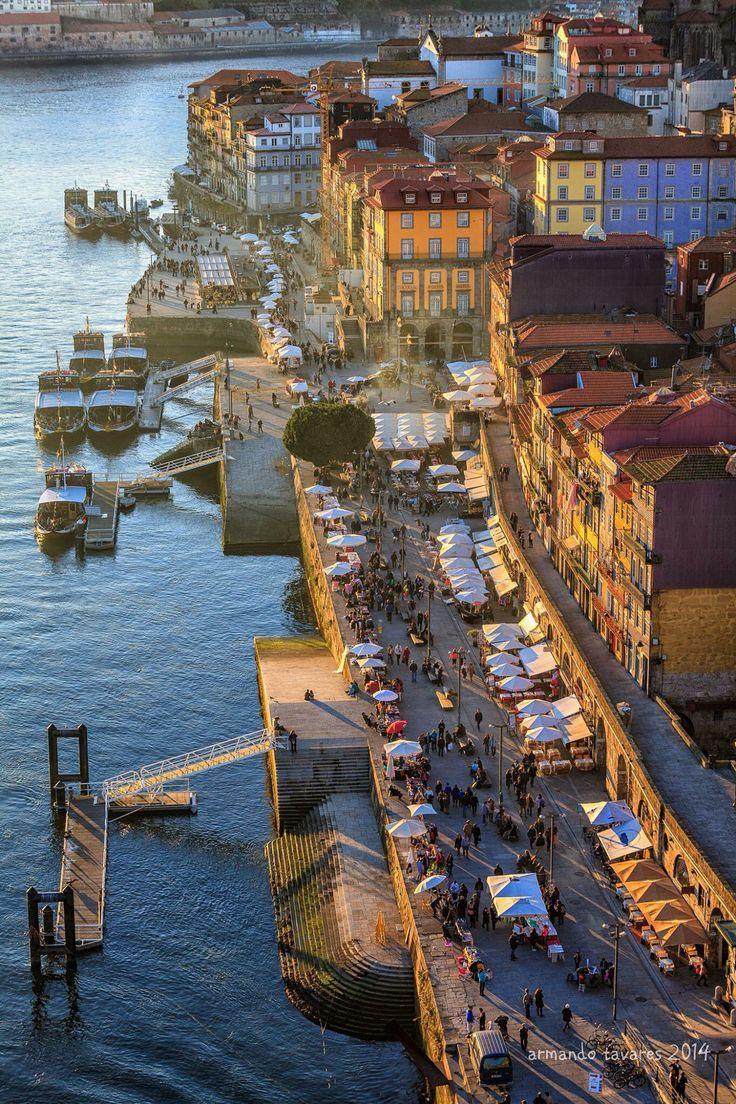 Easy living by the Douro River #Oporto (Porto), Portugal