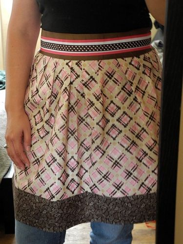 No Sew Half Apron | May Arts  Making this style apron for Lindsey!