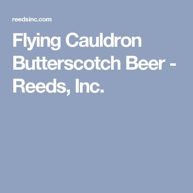 Flying Cauldron Butterscotch Beer - Reeds, Inc.