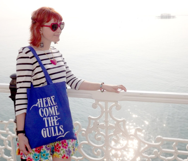 Here Come The Gulls Screenprinted Blue Tote Bag by hello DODO: Blue Totes, Hello Dodo, Dodo Screenprint, Beach Bags, Totes Bags, Gull Screenprint, Graphics Design, Greeting Cards, Beaches Bags