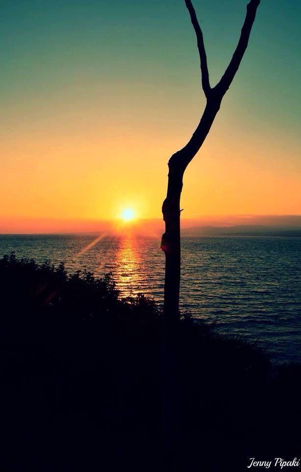 Sunset Pefkos ..