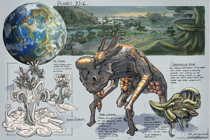 23 best Alien Planet Creatures images on Pinterest | Alien ...