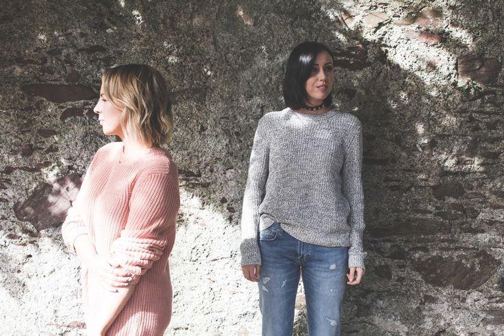 Leona and Nessa Knits