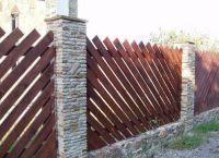 Деревянный забор8
