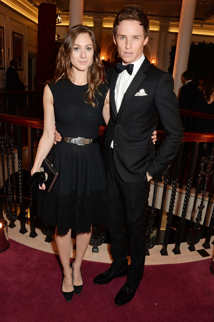 Hannah Bagshawe and Eddie Redmayne in Burberry