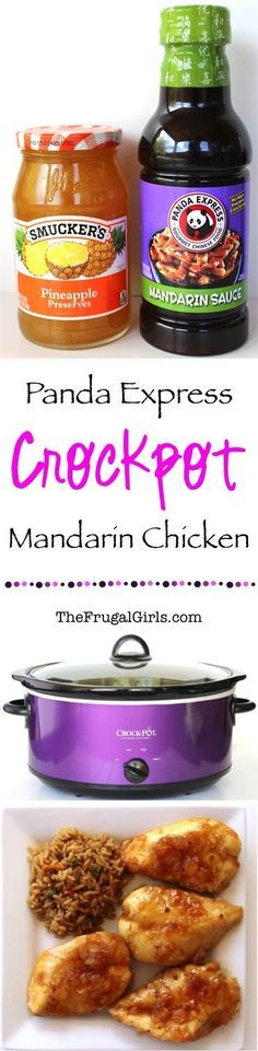 Easy Crockpot Panda Express Pineapple Mandarin Chicken Recipe! ~ from TheFrugalGirls.com ~ this Slow Cooker dinner is SO easy and super delicious! #slowcooker #recipes #thefrugalgirls