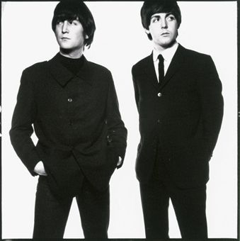 Lennon and McCartney by DAVID BAILEY (1965)