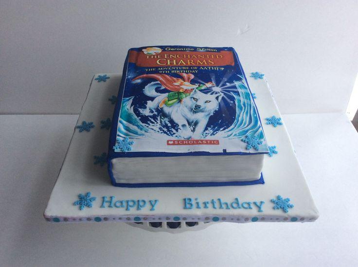 Resultado de imagen de geronimo book cake