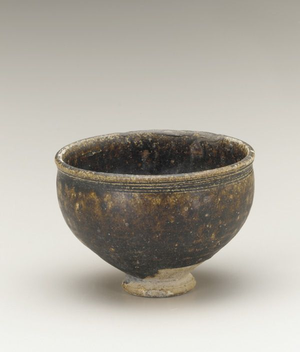 Cup 11th-12th century Unidentified, Khmer Angkor period Stoneware with iron glaze H: 6.5 W: 9.0 D: 9.0 cm Cambodia or Northeast Thailand