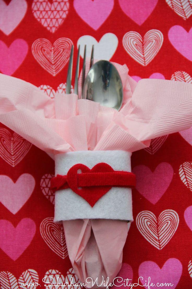 DIY- Valentine Napkin Rings