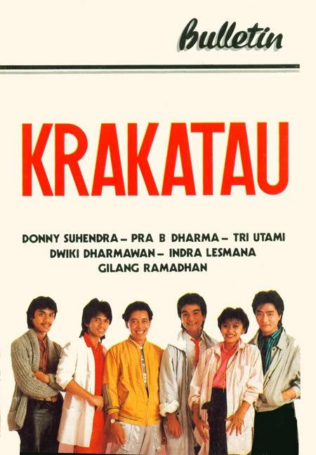 Album First Edition - Krakatau Band | Dwiki Dharmawan, Pra Budi Dharma, Donny Suhendra, Indra Lesmana, Gilang Ramadhan, Tri Utami | 1986