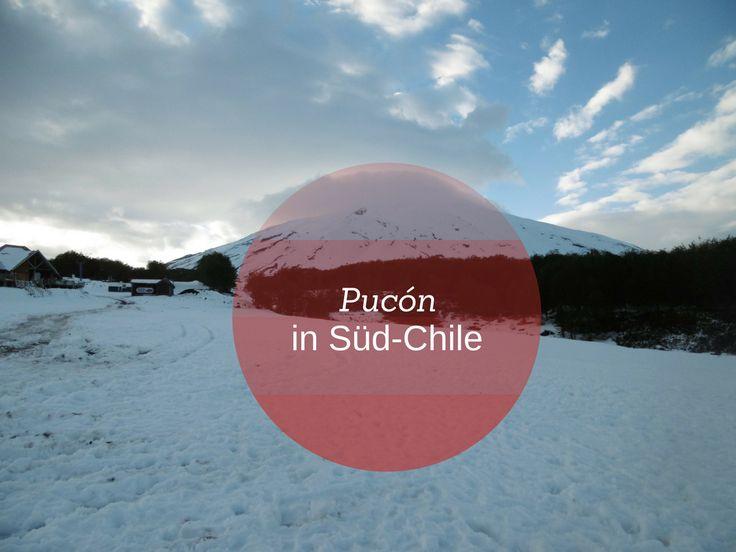 Pucón (Pucon) befindet sich im Kleinen Süden von Chile. Südlich von Pucón liegt der Vulkan Villarrica (Volcán Villarrica), es handelt sich um einen der aktivsten Vulkane in Südamerika.   Pucon ist ein Mekka für Outdoor-Liebhaber, Abenteurer und Backpacker.