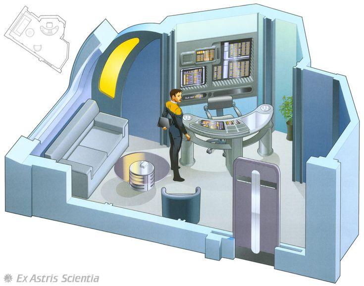 82 Best Images About Star Trek Bridge Layout On Pinterest