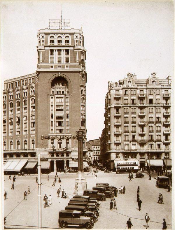 Plaza del Callao, 1934.