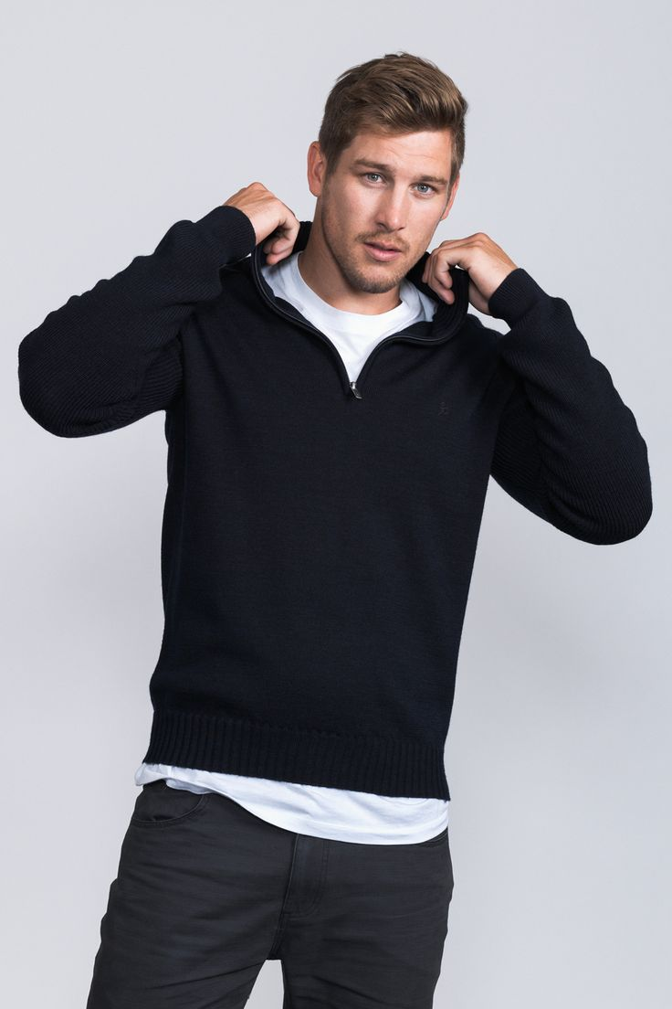 Archer QTR Zip /  Wear out to dinner or to that important after match function.